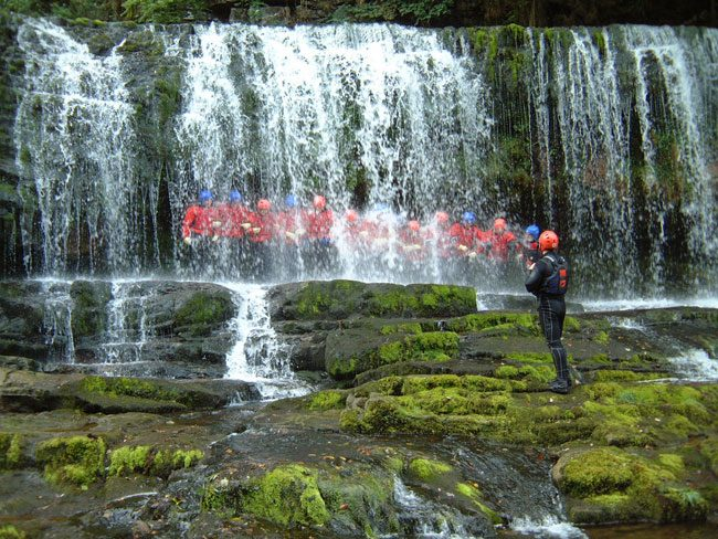 Activity weekend canyoning