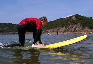 Surfing as an activity idea in Wales