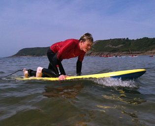 Surfing venues in wales