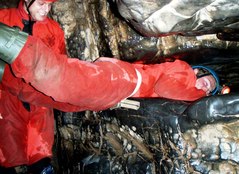 know everything about caving in Wales