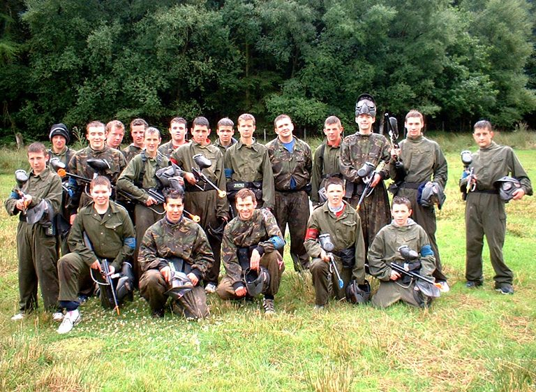 paintballing in cardiff