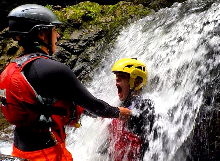 gorge walking in wales