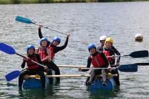 Family rafting