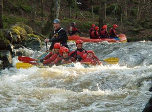 Activity weeeknd ideas white water rafting