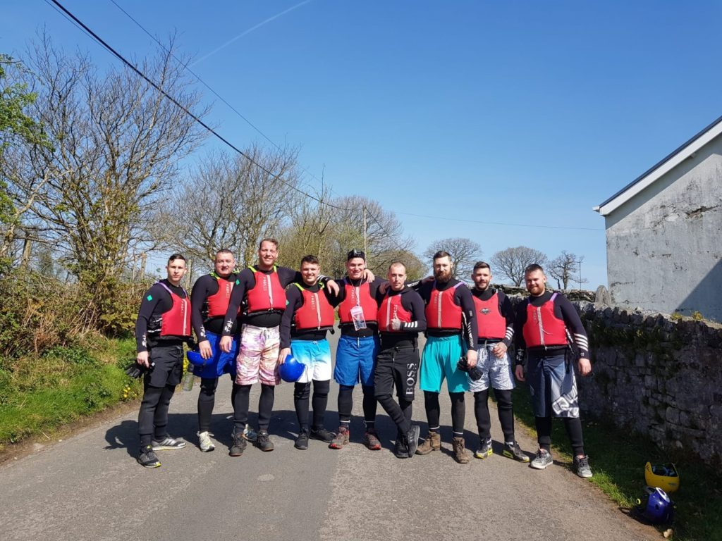 stag weekend canyoning