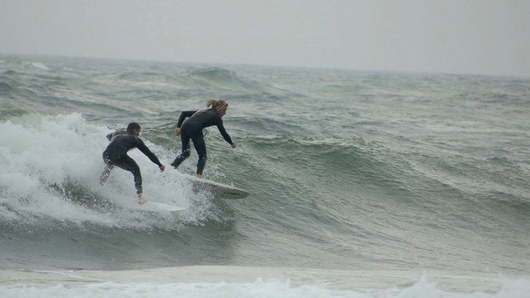 Surfing Wales
